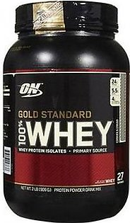 Optimum Nutrition On Gold Standard Whey Protein 2 lbs