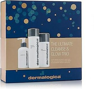 Dermalogica The Ultimate Cleanse & Glow Trio Kit Transparent