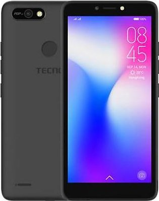 Tecno Pop 2F | Dual Sim | 1 GB RAM | 16 GB ROM | Black