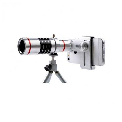 18x Mobile Phone Lens Telescope Camera Silver