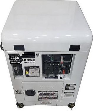 Angel Power Products Generator AG 10000 WSE Super Sound Proof Canopy White