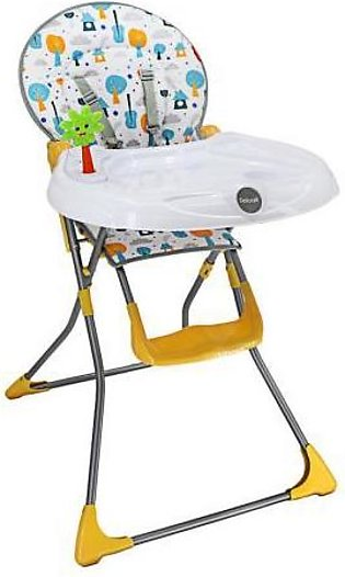 Mama & Baby High Chair For Baby HC-6638 (289A-847) Yellow