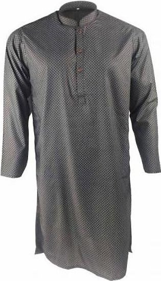 Printed Kurta for Men IG-13 Black