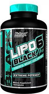 Nutrex Research Lipo 6 Black Hers Ultra Concentrate 120 Servings Fat Burner