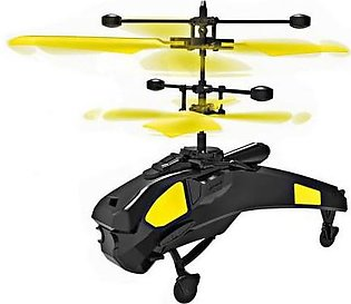 A1 Induction Remote Control Helicopter Black