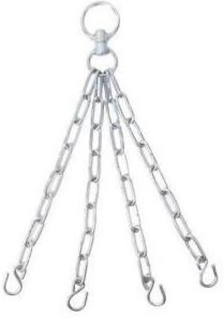 Punching Bag Chain Silver
