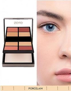 Zero Makeup All In One Face Perfecting Palette Porcelian