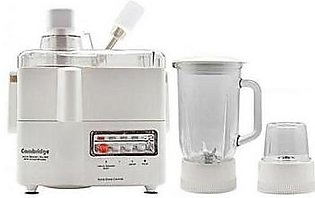 Cambridge 3 in 1 Juicer Blender Grinder Jb400 White
