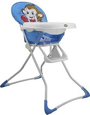 Mama & Baby High Chair Monkey Blue