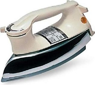 National Deluxe Dry Iron NI21AWT White