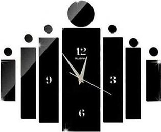 Prolific Wall Clock Black