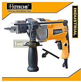 Hoteche Electric Drill Machine 650W Veritable Speed Copper Motor Yellow & Black