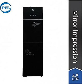 PEL Curved Glassdoor Water Dispenser PWD-115 Black