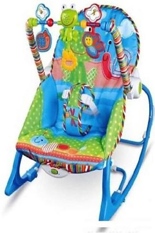 Baby Bouncer with Musical Strip N Baby Play Gym Multicolor
