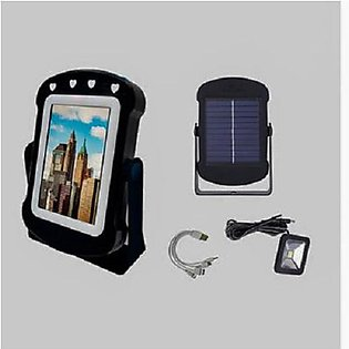 C-CLamp Multi-Function Solar Mirror Power Bank