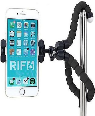 Flexible Mobile Stand Black