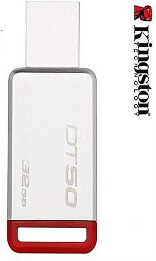 Kingston USB 32GB Flash Drive DT50 White