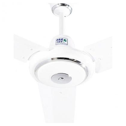 Pak Classic Silver Ring Ceiling Fan Size 56 Inch White