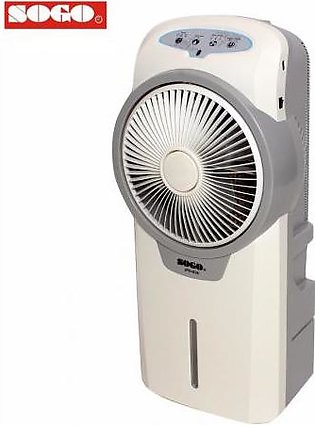 SOGO 15 Ltr Rechargeable Air Cooler with Remote Control JPN698 - White