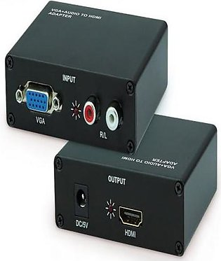 VGA to HDMI Converter Black
