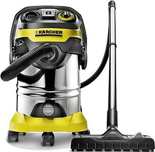 Karcher WD 6 Multipurpose Vacuum Cleaner 1300 W Yellow & Silver