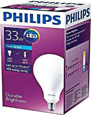 Philips LED Bulb 33W Cool Day Light PL-013