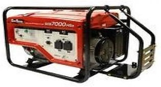 DAI SHIN 5.5 KW Powered Petrol Generator SEB7000HSA Red