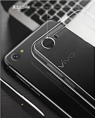 Pack Of 2 Vivo Y81I Tempered Glass Screen Protector+ Silicone Cover Transparent