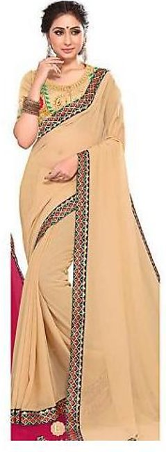 Ruchika Saree for Women Golden