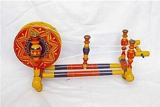 Wooden Traditional Charkhaa Decoration Piece ED-115 Multicolor