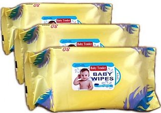 Pack of 3 Baby Wipes