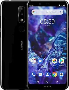 Nokia 5.1 Plus | Dual Sim | 3 GB RAM | 32 GB ROM | Black