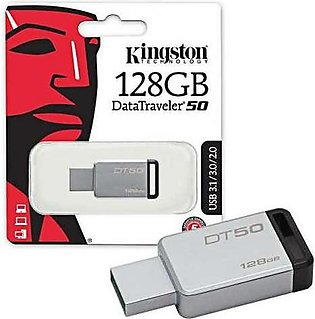 Kingston Usb Flash Drive 128 GB Dt-swivl White