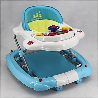Mama & Baby Walker with Rocker T1078H Blue & White