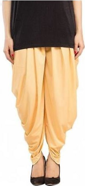 Tulip Shalwar with Pearls DOHG-196 Beige