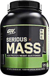 Optimum Nutrition Serious Mass Chocolate Flavour 6 lbs