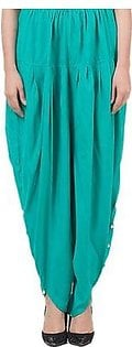 Tulip Shalwar with Pearls DOHG-202 Turquoise