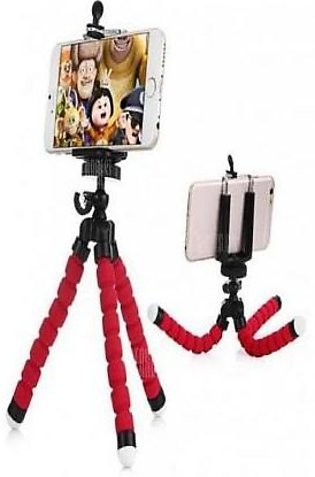 Flexible Mobile Stand Red