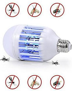 Led Bulb With Mosquito Killer Lamp D43934 Multicolour