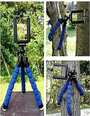 Flexible Mobile Stand Blue