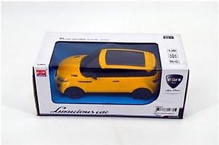 Luxurious Remote Control Car Yellow