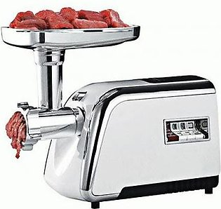 Food Processor Electric Meat Grinder Electric Food Chopper Silver