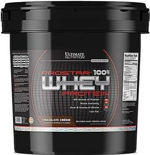 Ultimate Nutrition ProStar 100% Whey Protein Chocolate Creme 10 Lbs