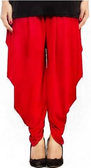 Tulip Shalwar with Pearls DOHG-204 Red