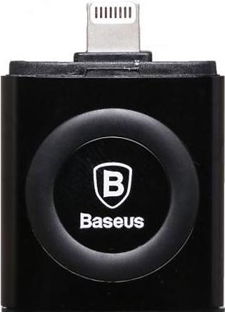 Baseus Connector U Disk With Double Cover ACAPIPH-C01 Black