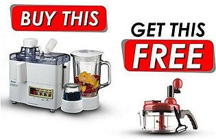 Buy 3 in 1 Juicer Blender and Get Handy Chopper Free