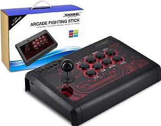 DOBE New Arcade Fightstick Joystick For PS4,PS3,XBOX ONE, Android TNS-848 Black