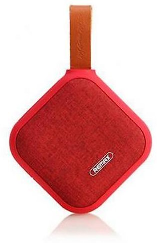 Remax Portable Fabric Bluetooth Speaker RB-M15 Red