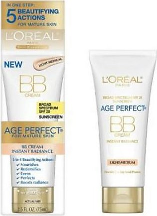 L'Oreal Age Perfect BB Cream Instant Radiance 75 ml