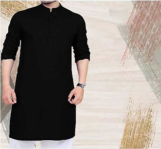 Kurta For Men ABC-1 Black